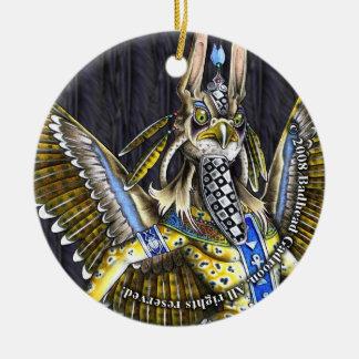Bennu-Nahroe Round Ornament