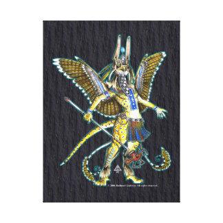 Bennu Nahroe Wrapped Canvas
