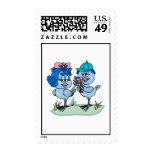 Benny and Binny Blue Jay Stamps