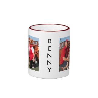 Benny - Briard Photo-04 Taza De Dos Colores