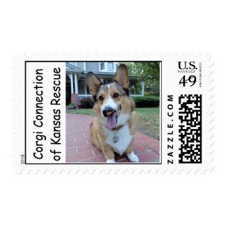 Benny Corgipants - Freedom Day 2011 Stamp