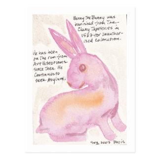 Benny el conejito de la postal de Cluny