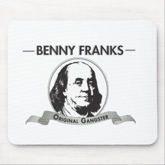 Benny Franks Original Gangster Mouse Pad