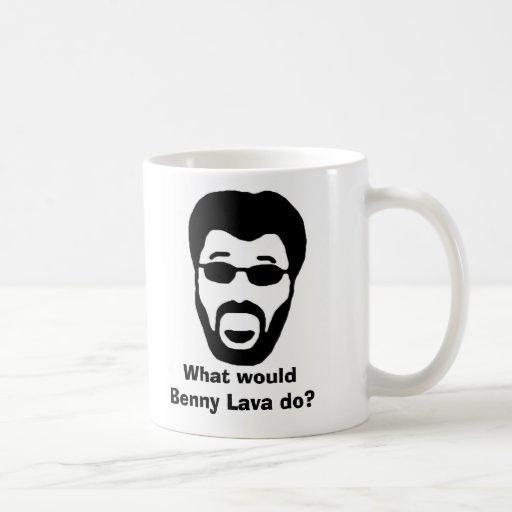 Benny Lava coffee mug