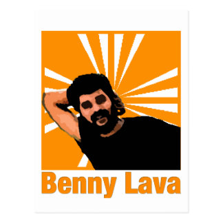 Benny Lava Postcard