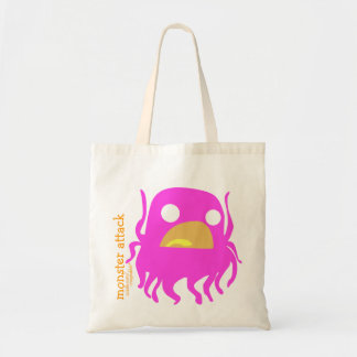 Benny Monster Attack Tote Budget Tote Bag