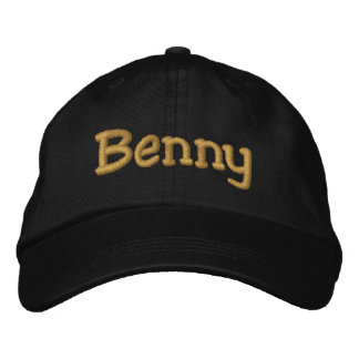 Benny Personalized Embroidered Baseball Cap / Hat