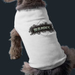 """Benny - Pet Dog T-Shirt - Black Paw Prints Design<br><div class=""""desc"""">BENNY   Pet T-shirt  Black Paw Prints Name Design  by Julie Alvarez    Don&#39;t see your pet&#39;s name?    Email me at julie@julieagifts.com  with your pet&#39;s name and design name that you want and it  will be posted within 24 hours.  You&#39;ll get an email notification  and link to purchase when ready.</div>"""