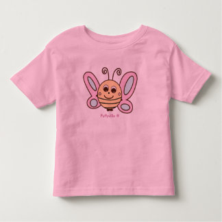 Benny The Butterfly Girls Toddler T-Shirt By Puffy