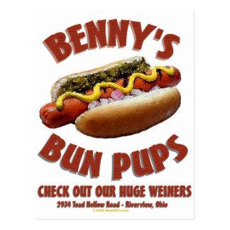 Benny's Bun Pups Postcard
