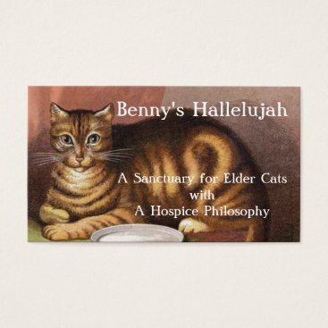 Professional Business Benny's Hallelujah Business Card
