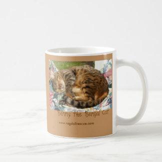 Bennysleepinglrg, Benny el gato de Bengala, Taza Clásica