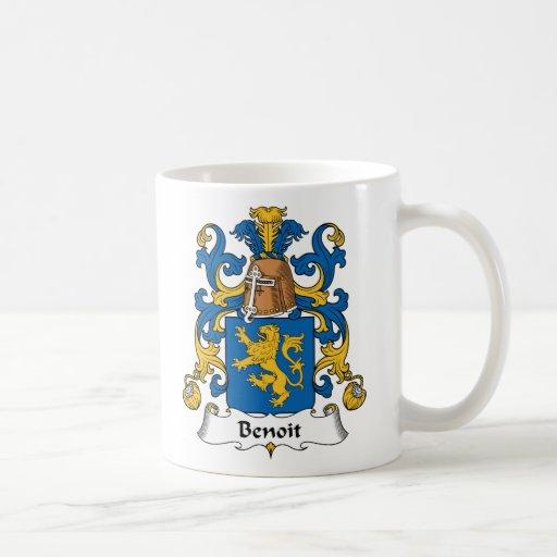 Benoit Family Crest Mug