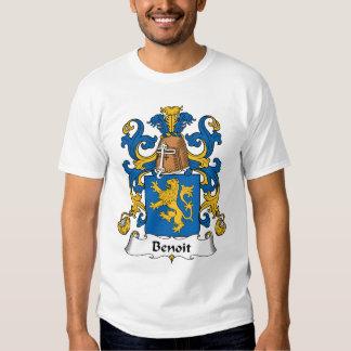 Benoit Family Crest T Shirt