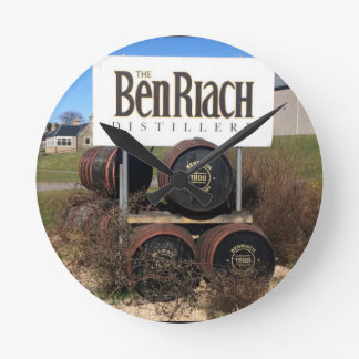 BenRiach clock whisky Watch time for A Dram
