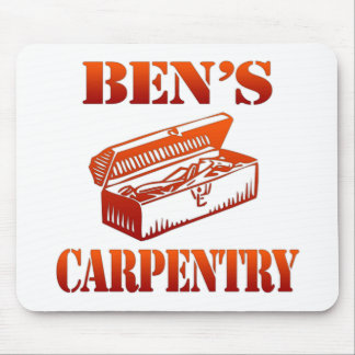 Ben's Carpentry Mouse Pad