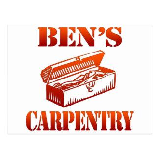 Ben's Carpentry Postcard
