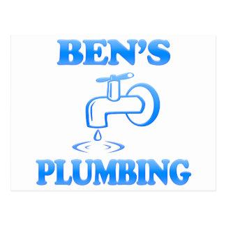 Ben's Plumbing Postcard