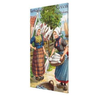 Bensdorp's Royal Dutch Cocoa Canvas Print