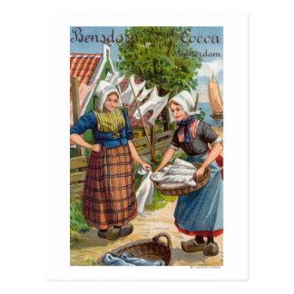 Bensdorp's Royal Dutch Cocoa Postcard