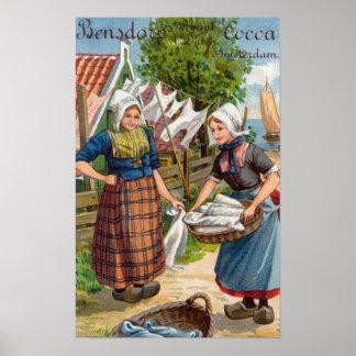 Bensdorp's Royal Dutch Cocoa Posters