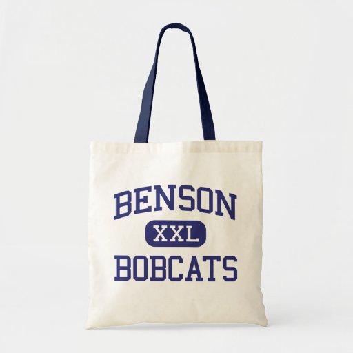 Benson - linces - High School secundaria - Benson  Bolsa Tela Barata