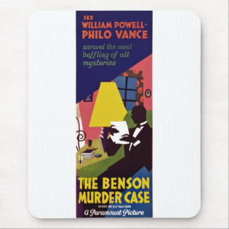 Benson Murder Case Mouse Pad
