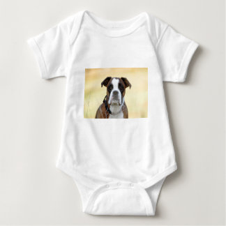 Benson the Boxer Baby Bodysuit