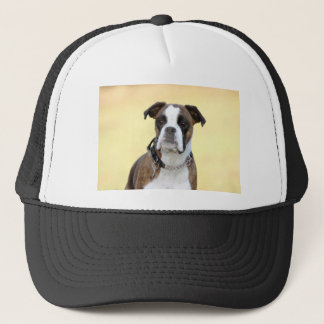 Benson the Boxer dog Trucker Hat