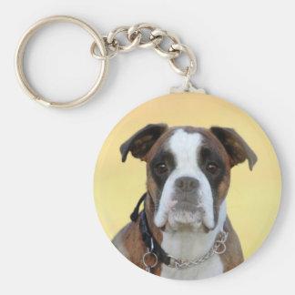 Benson the Boxer Key Chains