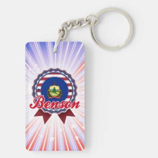 Benson, VT Rectangle Acrylic Key Chains