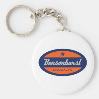 Bensonhurst Llavero Redondo Tipo Pin