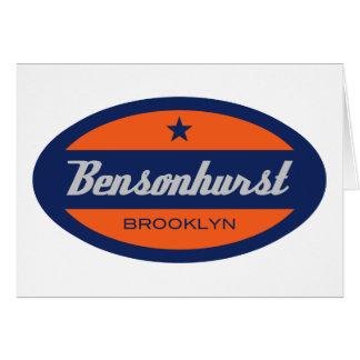 Bensonhurst Tarjeta De Felicitación