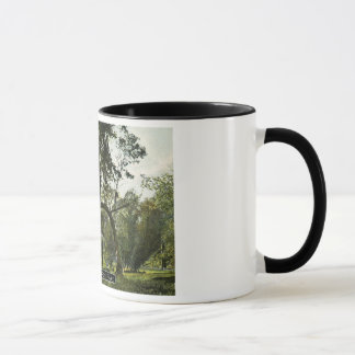 Bent Elm on Raisin River Old Manchester Village Mug