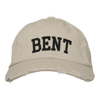 Bent Embroidered Hat
