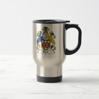 Bent Family Crest Mugs