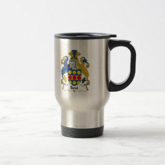 Bent Family Crest Coffee Mug