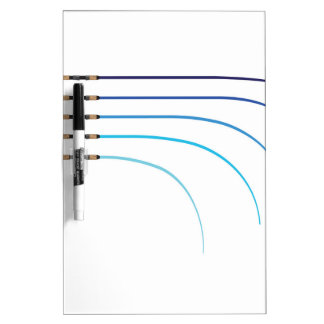 Bent Fishing rod vector curved rod blanks Dry Erase Board