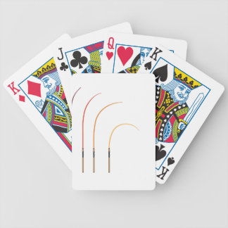 Bent fishing rod vector illustration clip-art tech bicycle playing cards