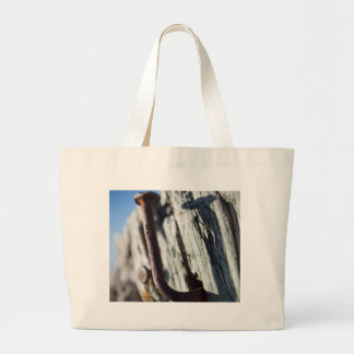 Bent Nail in the Sun Jumbo Tote Bag