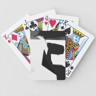 Bent on Release Bicycle Playing Cards