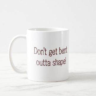 Bent Outta Shape Coffee Mug