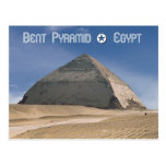 Bent Pyramid at Dahshur, Egypt Postcard