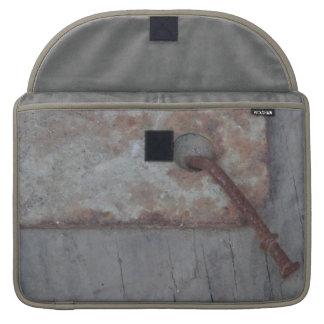 Bent Rusty Nail Laptop Sleeve