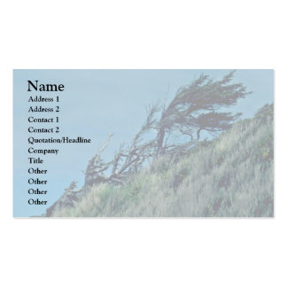 Bent Trees In Storm Business Card Templates