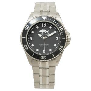 Benthic Black dive watch