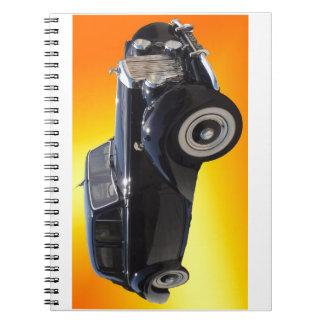 Bentley clásico spiral notebooks
