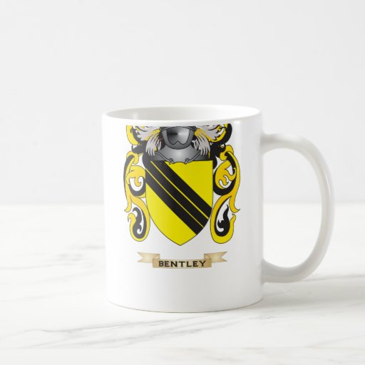 Bentley Coat of Arms (Family Crest) Coffee Mug