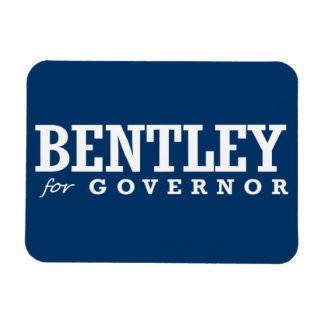 BENTLEY FOR GOVERNOR 2014 FLEXIBLE MAGNETS