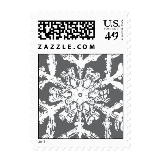Bentley Snowflake Stamp